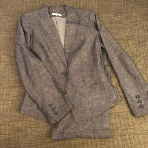 Calvin Klein Jackets & Coats - Calvin Klein chambray linen jacket (only)